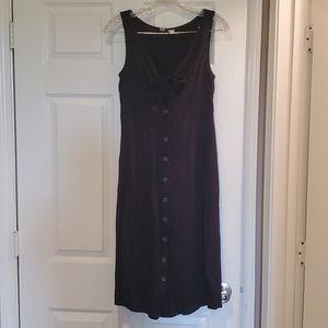Universal Thread Black linen dress